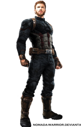 Captain America Cosplay Costume from Avengers: Infinity War
