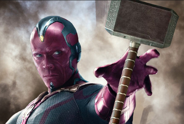 Vision Coplay Props from Avengers: Infinity War