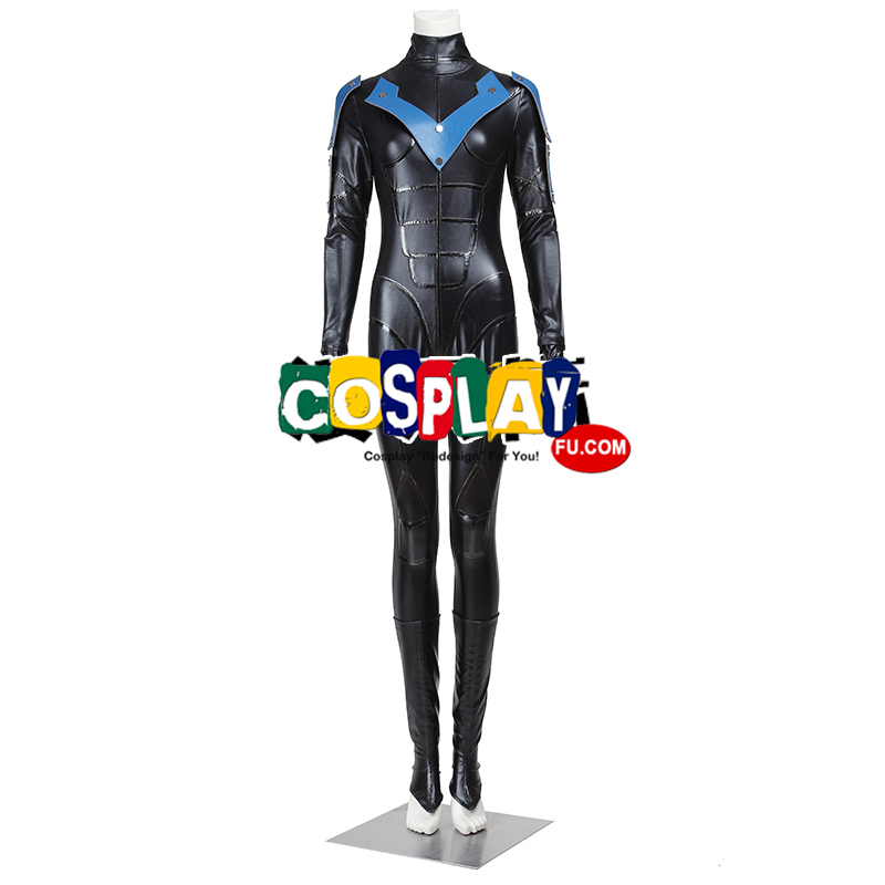 Nightwing Cosplay Costume (Female) from Batman Arkham City