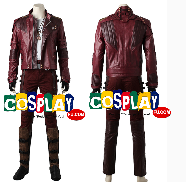 Star-Lord Cosplay Costume (2nd) from Guardians of the Galaxy