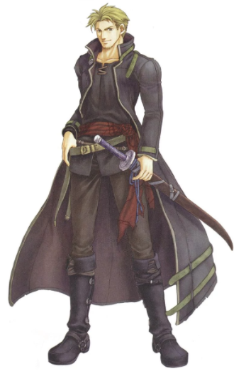 Lloyd Reed Cosplay Costume from Fire Emblem