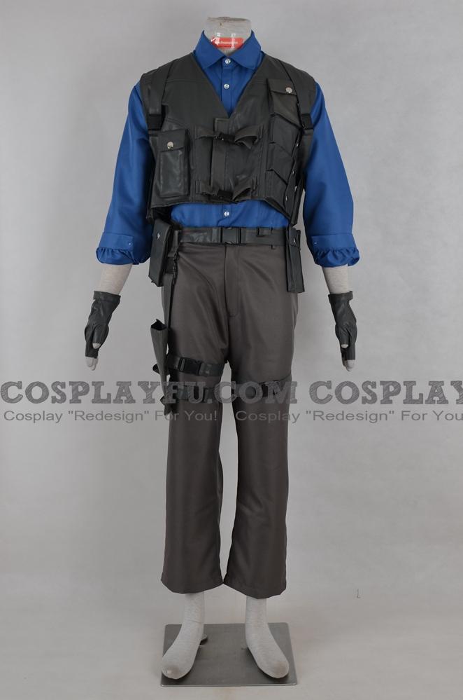 Custom Leon Scott Kennedy Cosplay Costume 3rd From Resident Evil
