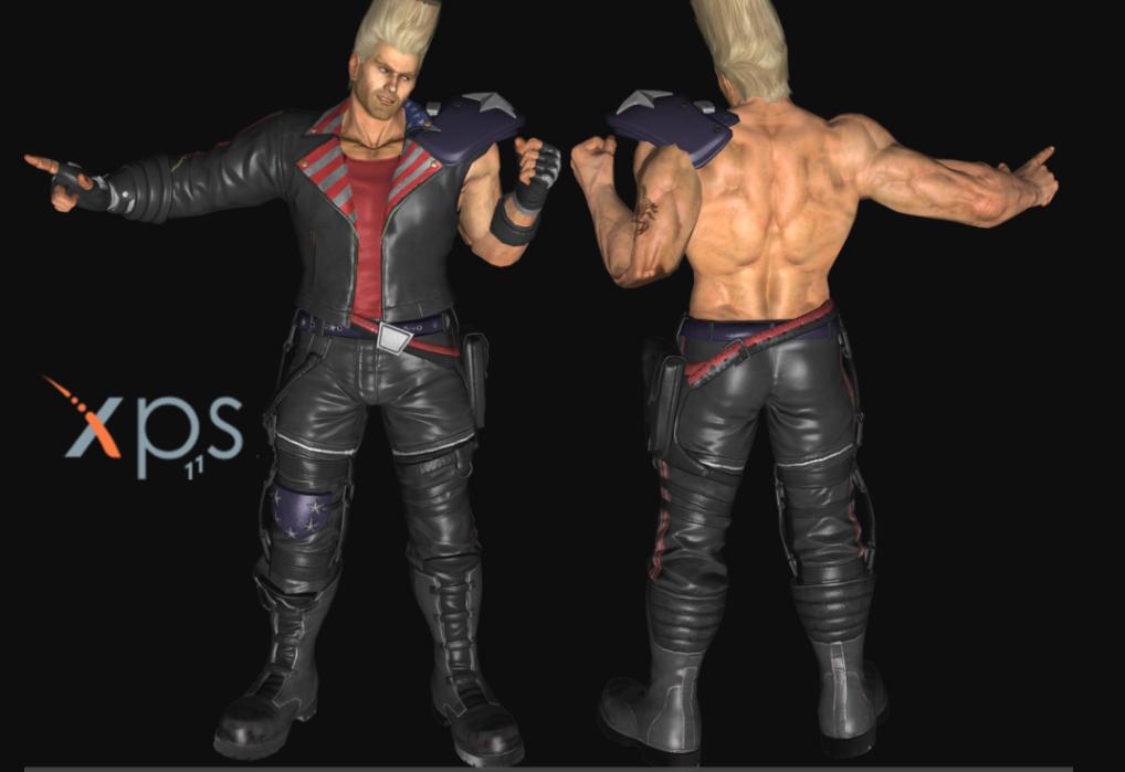 Paul Phoenix Cosplay Costume from Tekken