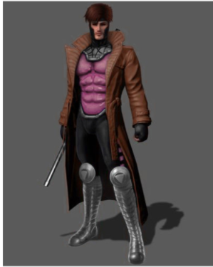 Gambit Cosplay Costume from X-Men