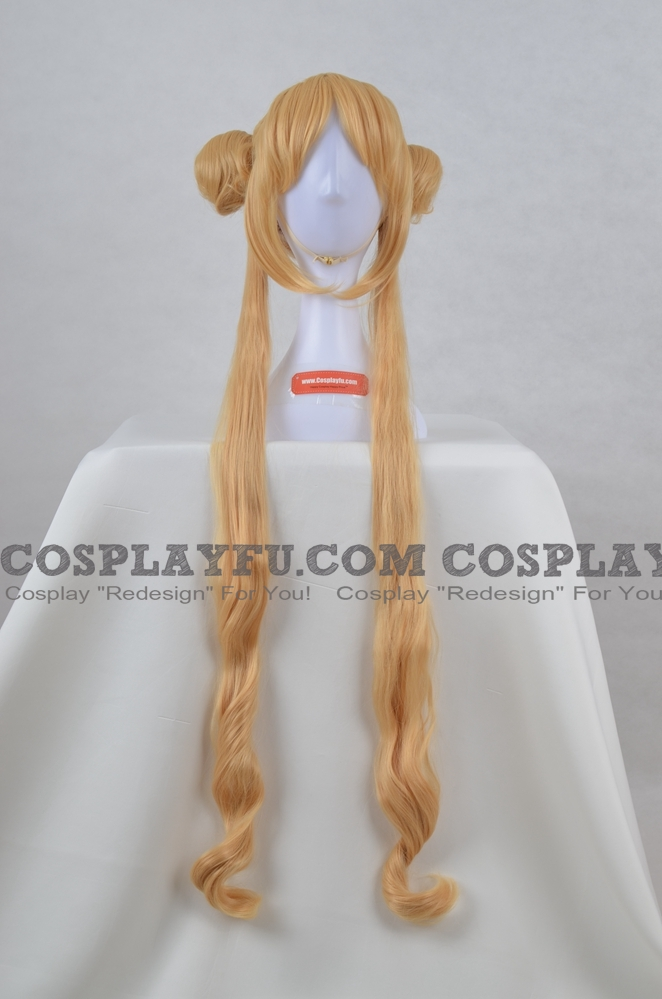 Sailor Wig (soft blonde) from Sailor Moon