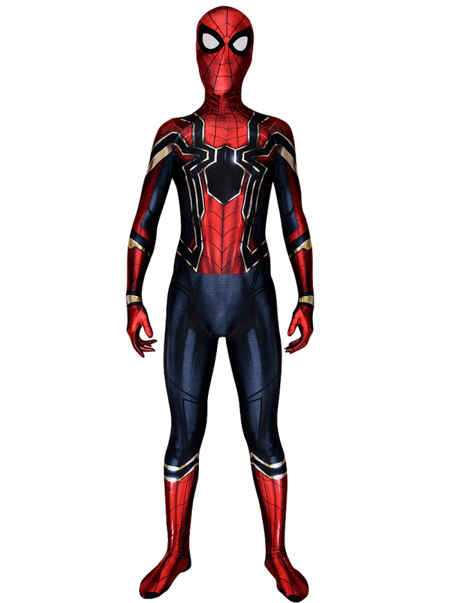 Iron Spider Man Cosplay Costume from Avengers: Infinity War