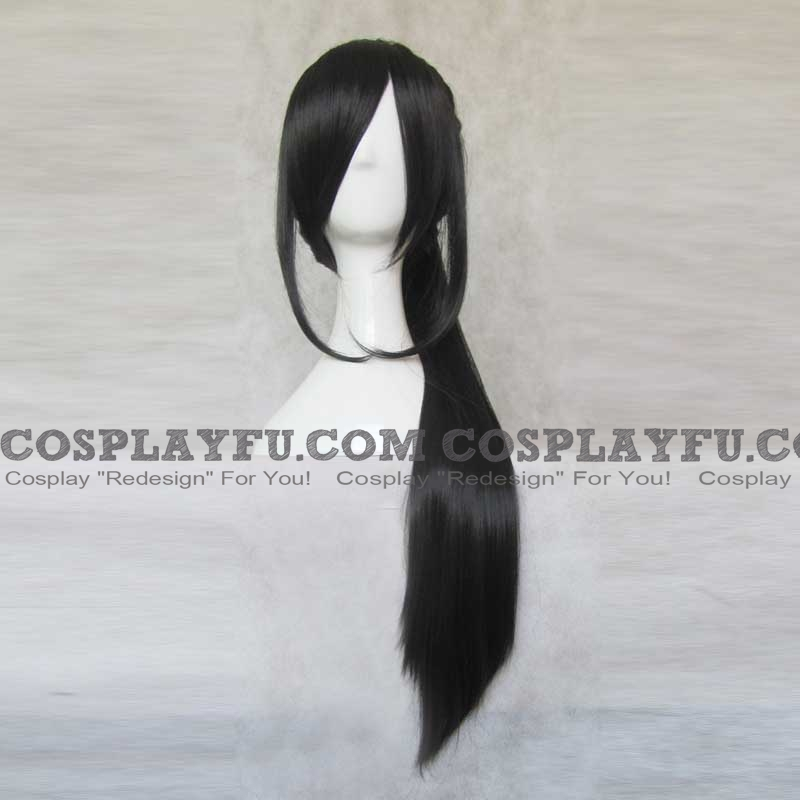 Chizuru Wig (Long, Black) from Hakuouki