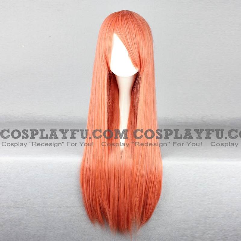 Mikuru Wig (Straight, Orange) from The Melancholy of Haruhi Suzumiya