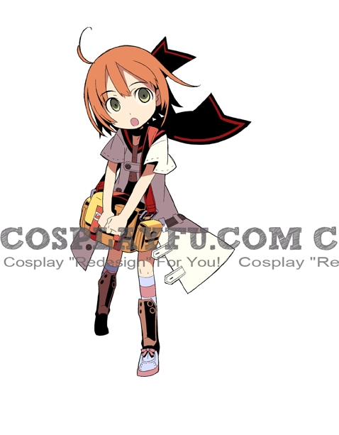 Medic Cosplay Costume from Etrian Odyssey
