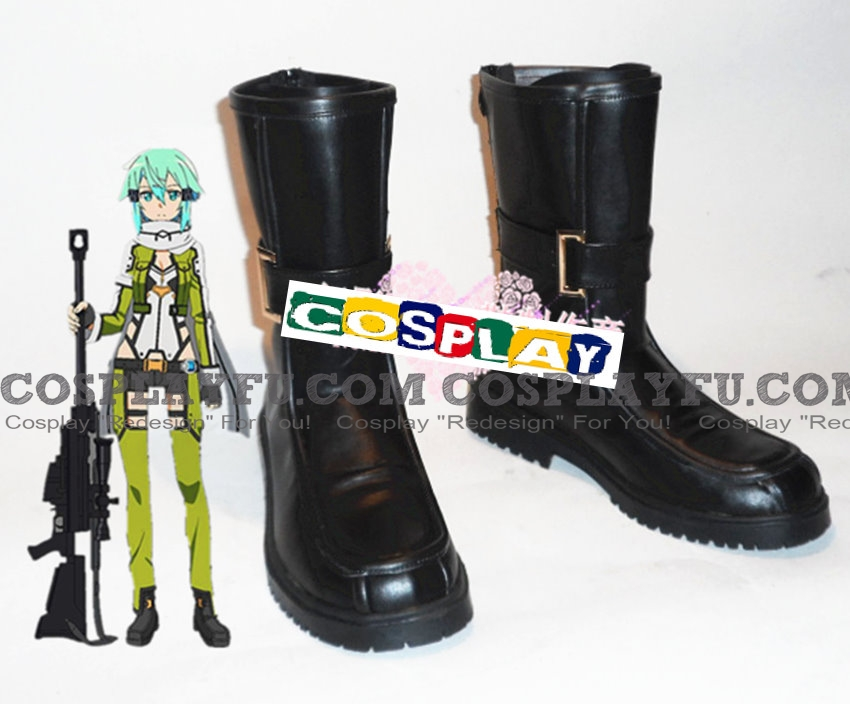 Sinon Shoes from Sword Art Online