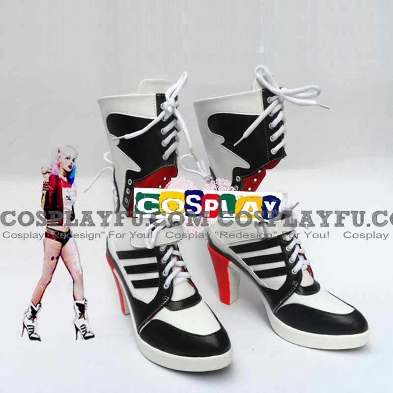 Harley Quinn Shoes (556) from Suicide Squad