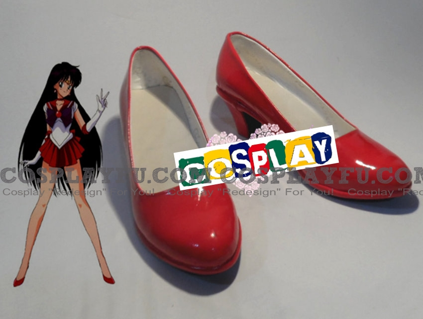 Sailor Mars Shoes (413) from Sailor Moon