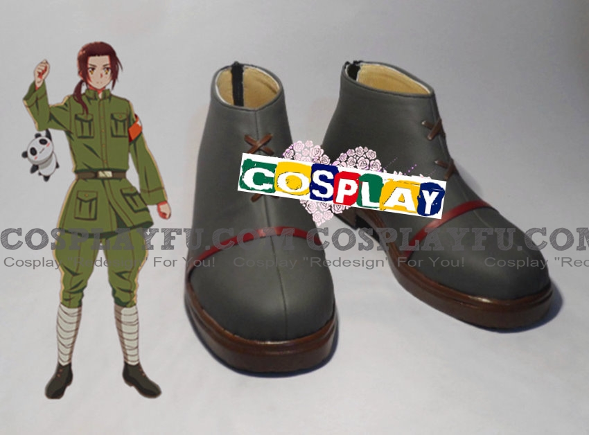 Hetalia: Axis Powers China Zapatos (471)