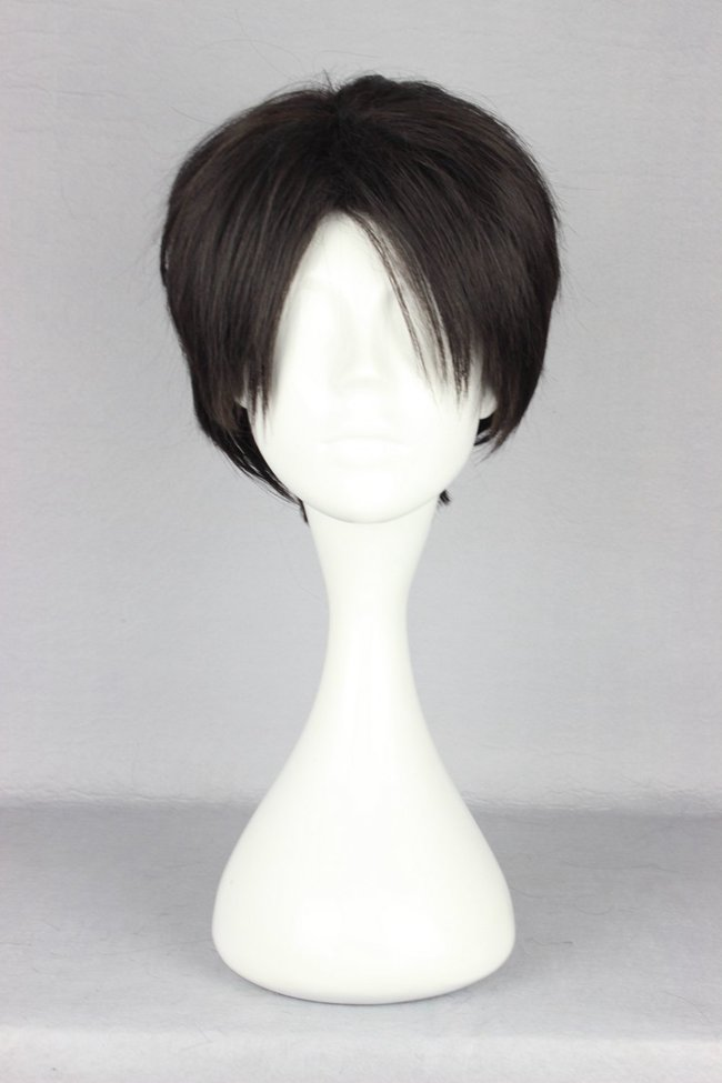 Levi Ackerman wig from Attack On Titan