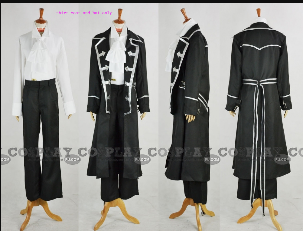 Gilbert Cosplay Costume (Parts) from Pandora Hearts
