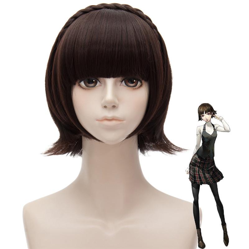 Макото Ниидзима парик from Persona 5