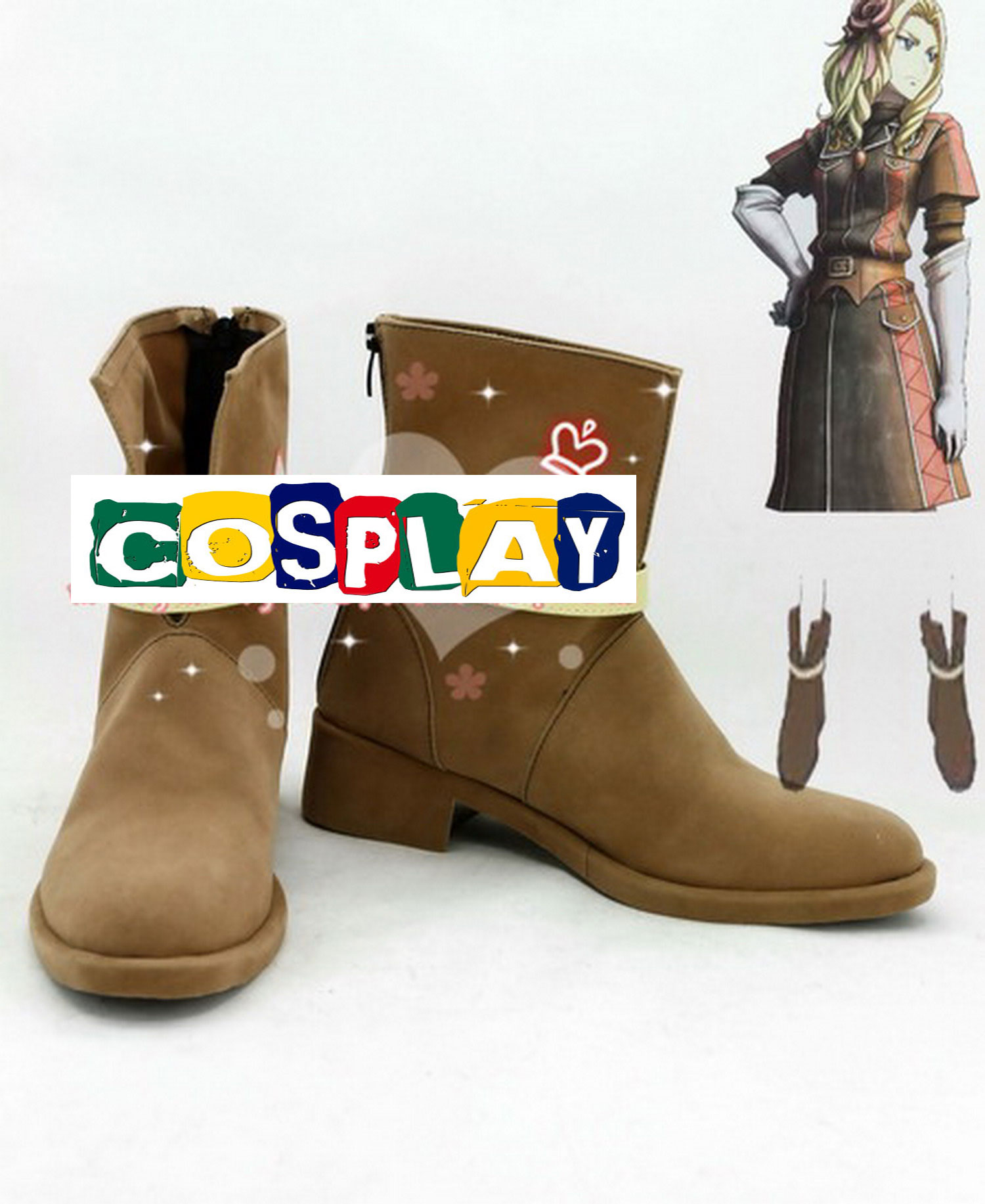 Margit Shoes (3575) from Valkyria Chronicles