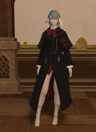 Scholasticate Coat Cosplay Costume from Final Fantasy XIV