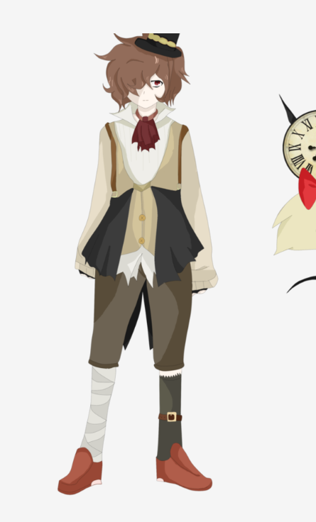 Chester Cosplay Costume from Pandora Hearts Designed by Meg Roe