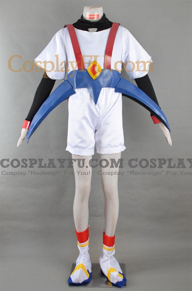 Wataru Ikusabe Cosplay Costume from Mashin Hero Wataru