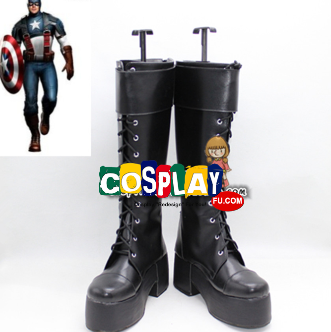 Captain America Shoes (3498) from Captain America