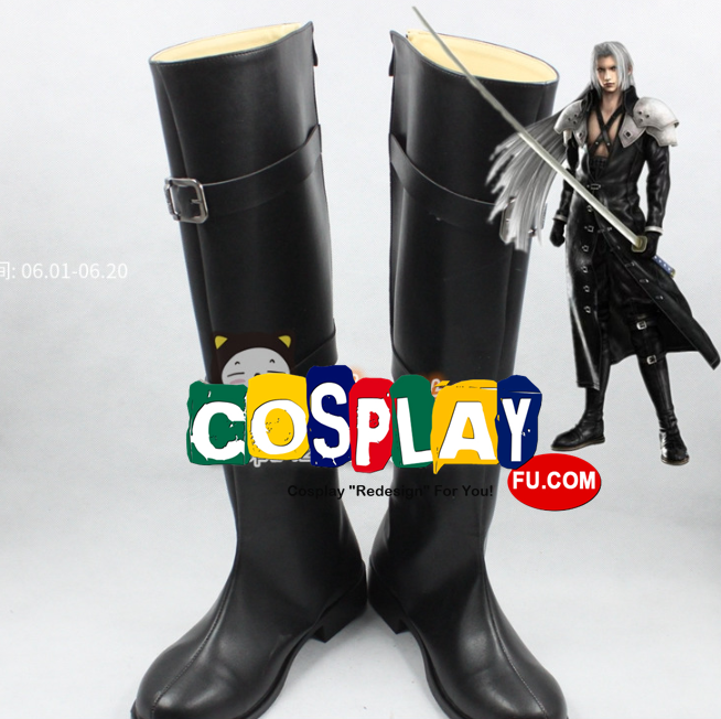 Sephiroth Shoes (7604) from Kingdom Hearts|Final Fantasy VII