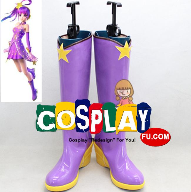 Vocaloid Фиолетовый обувь (1054)