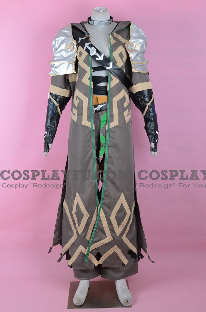 Zeke Cosplay Costume from Xenoblade Chronicles 2