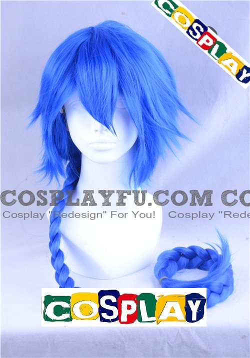 Aladdin wig from Magi: The Labyrinth of Magic