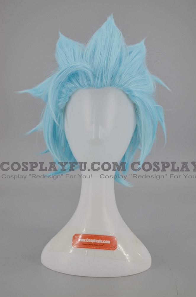 Short Icy Blue Wig (1532)