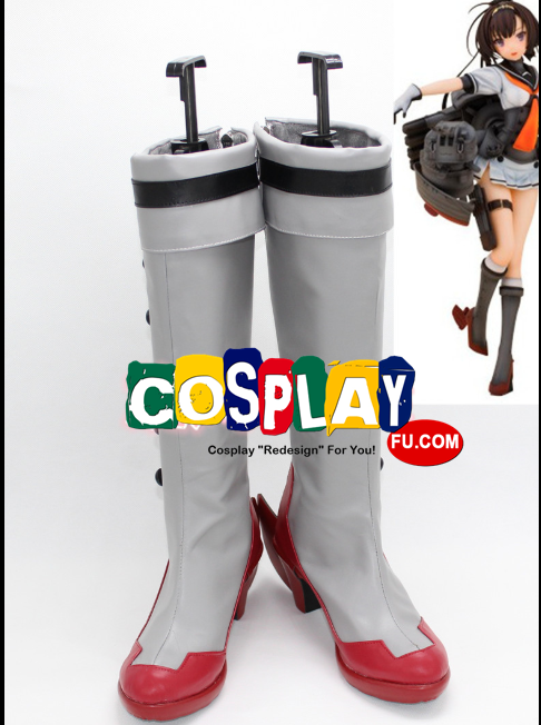 Akizuki Class Destroyer Cosplay Shoes (0445) form Kantai Collection