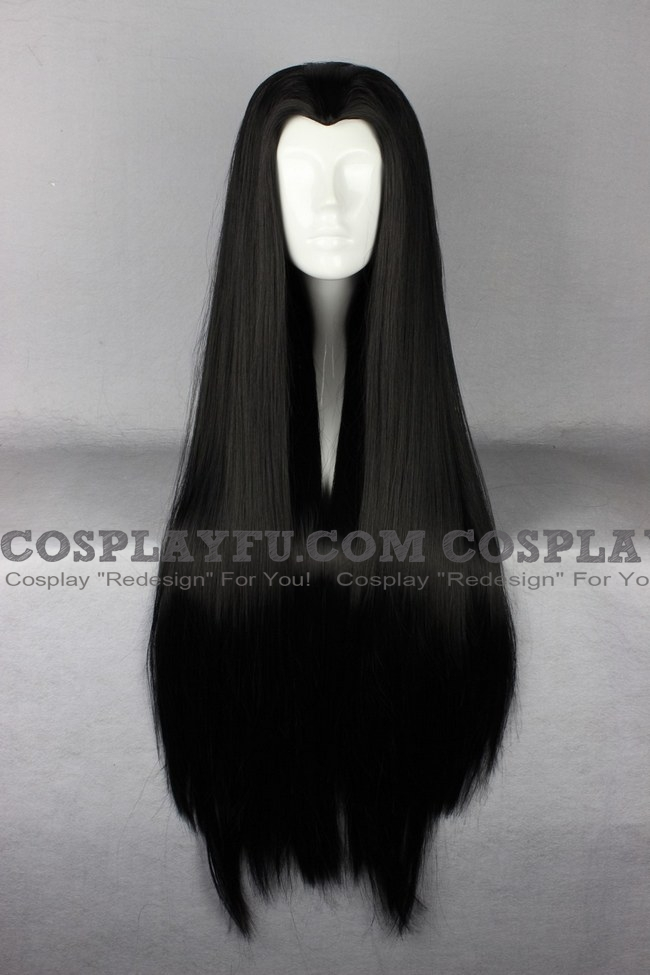 Azula wig from Avatar: The Last Airbender