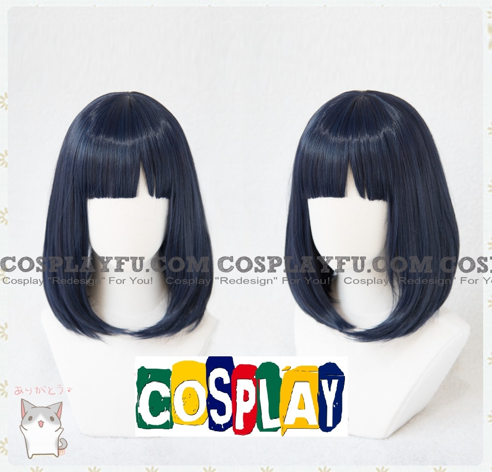 Obsidian wig from Land of the Lustrous