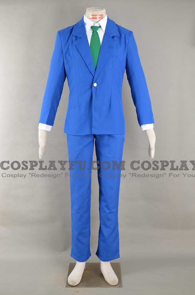 Detective Conan Shinichi Kudo Costume (School Uniform)