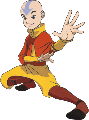 Aang Cosplay Costume from Avatar: The Last Airbender