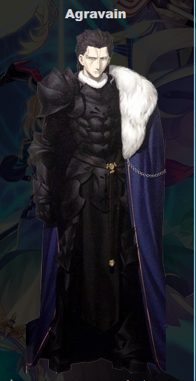 Agravain Cosplay Costume from Fate Stay Night