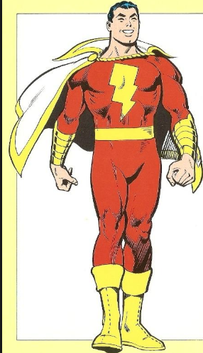 Shazam Cosplay Costume from DC comics