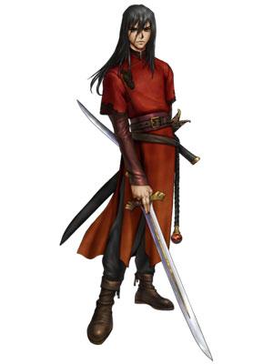 Navarre Cosplay Costume from Fire Emblem: Ankoku Ryu to Hikari no Tsurugi
