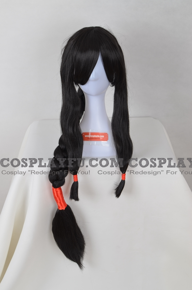 Long Straight Braids Black Wig (2926)