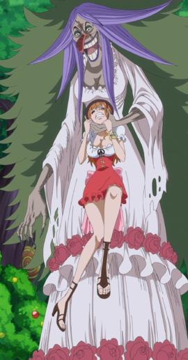 One Piece Br lée Charlotte Costume