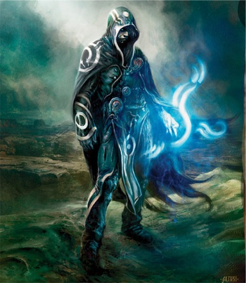 Jace Cosplay Costume from Magic: The Gathering Online