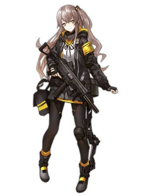 UMP45 Cosplay Costume from Girls' Frontline