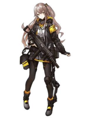 Girls' Frontline UMP45 Disfraz