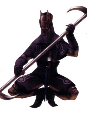 Ongyo-Ki Cosplay Costume from Shin Megami Tensei: Nocturne