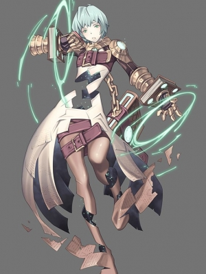 Adenine Cosplay Costume from Xenoblade Chronicles 2