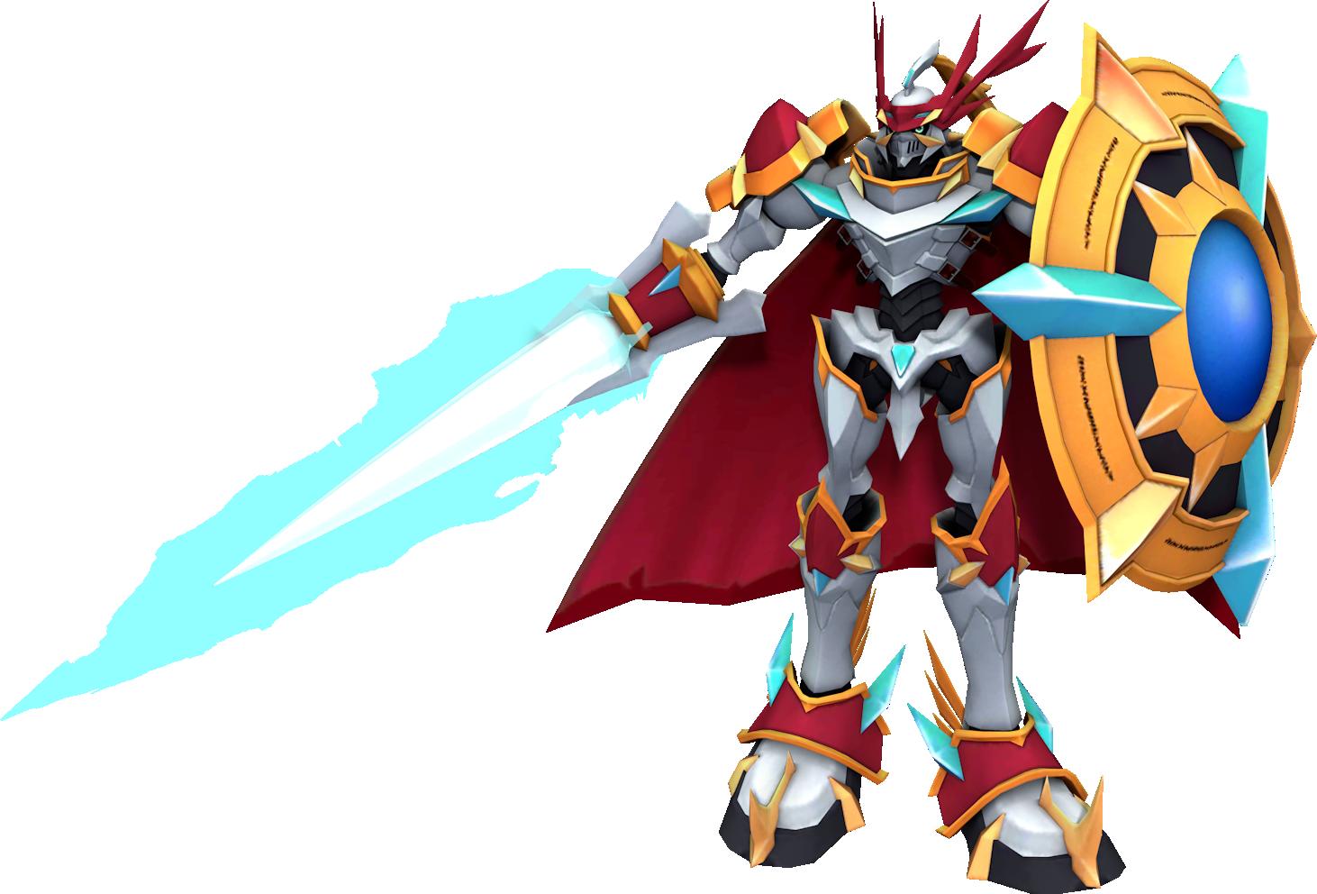 Dukemon Cosplay Costume from Digimon