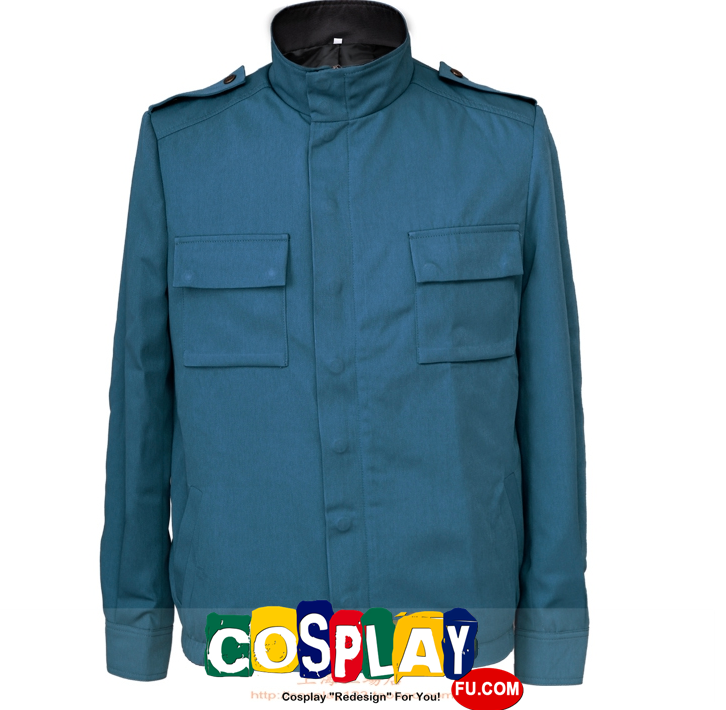 Captain America Cosplay Costume Jacket from Captain America II