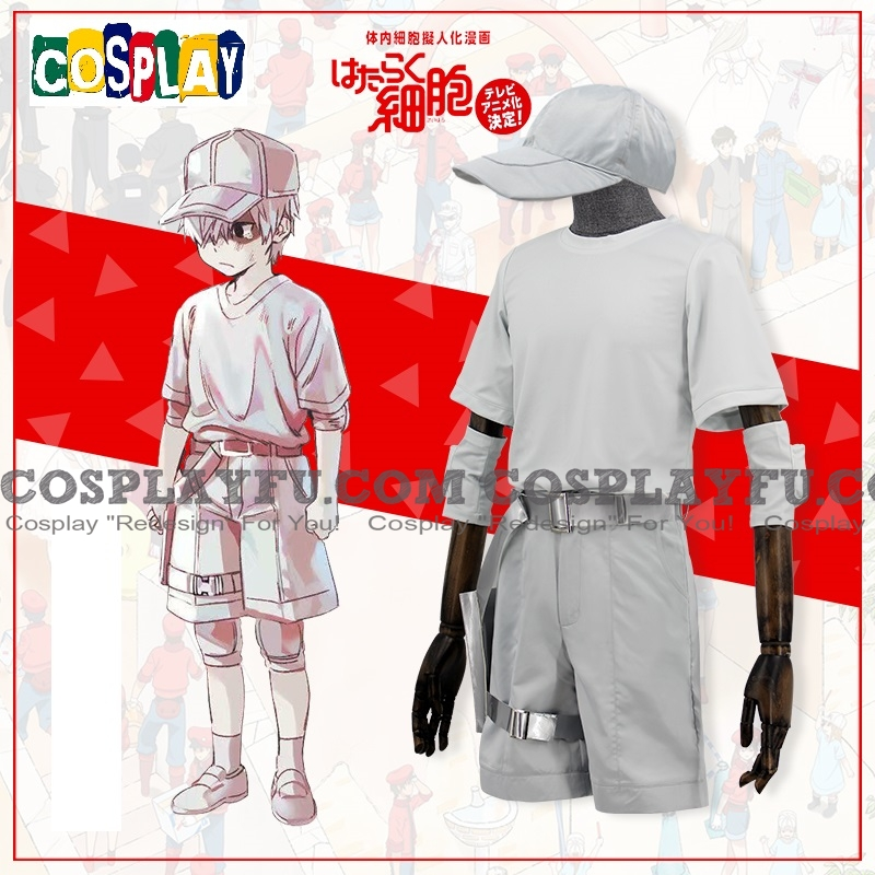 Cells at Work White Blood Cell Costume (Childhood)