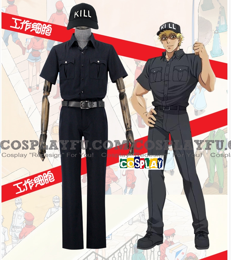 Cells at Work Killer T Cell Costume