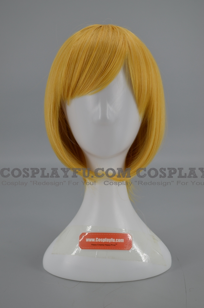 40 cm Short Yellow Wig (5639)